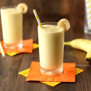 Banana Mango Yogurt Smoothie