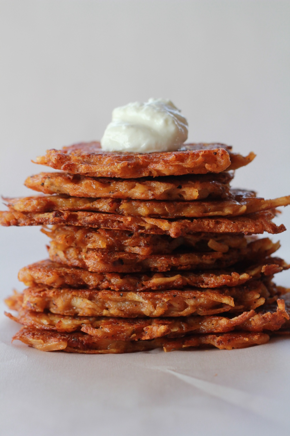 Chipolte Cheddar Potato Latkes