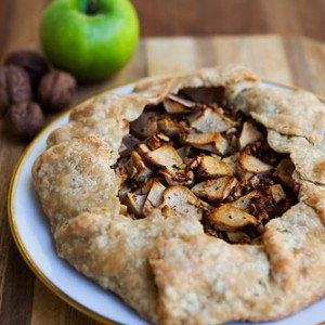 Apple Walnut <br>Gorgonzola Rustic Tart<br>
