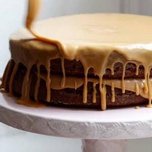 Caramel<br> Cake