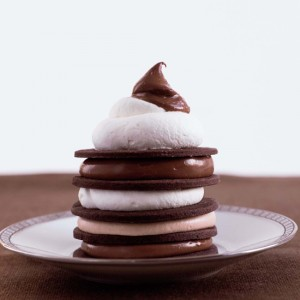 Chocolate <br>Cookies 'n' Cream Towers