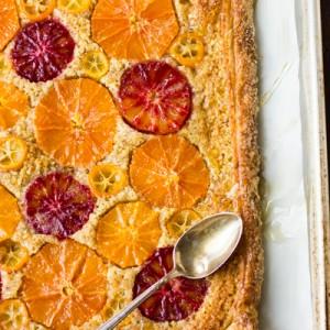 Rustic Citrus<br> Almond Tart