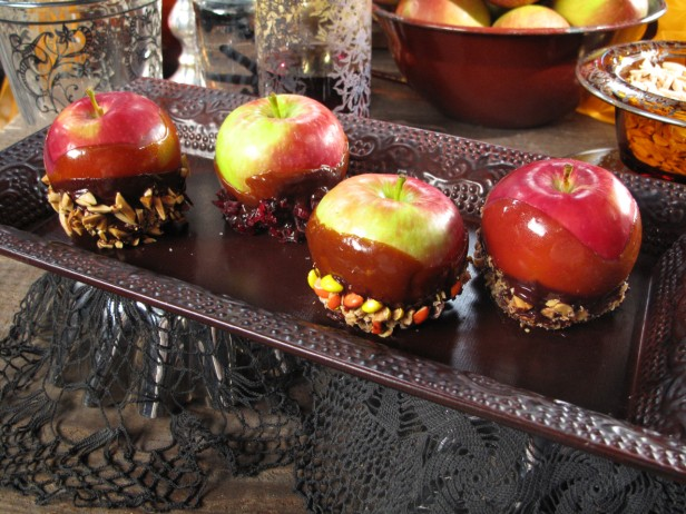 Designer<br> Toffee Apples