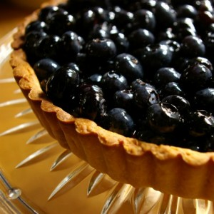 Fresh <br>Blueberry Tart<br>