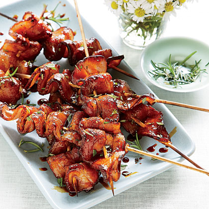 Grilled Balsamic-<br>Molasses Bacon