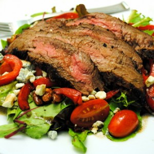 Grilled <br> Steak Salad