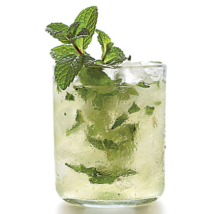 Mint-Champagne<br> Shrub<br>