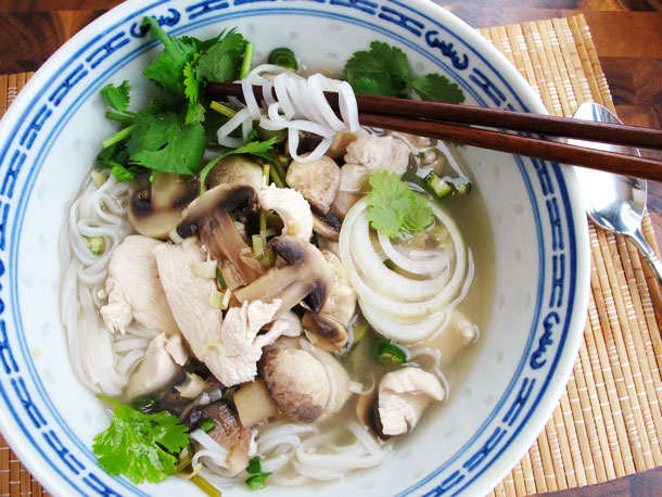 Quick Asian Chili-Lime <br>Chicken Soup