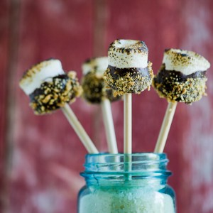 S'mores<br> on a Stick