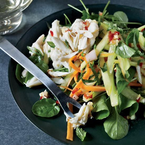Thai Crab and Green Mango Salad