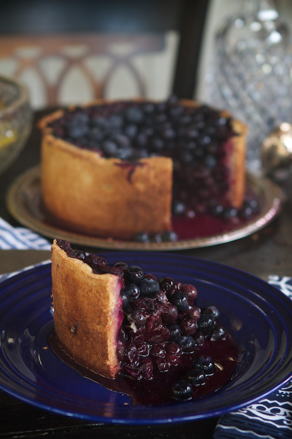 Blueberry Tall Pie