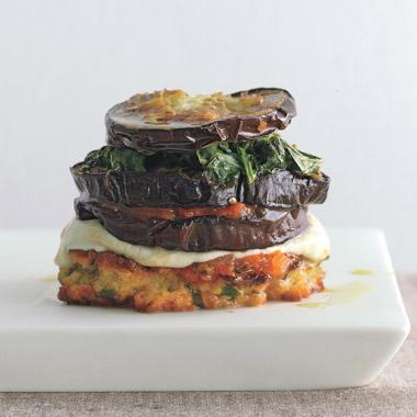 Inside-Out Eggplant Parmigiana