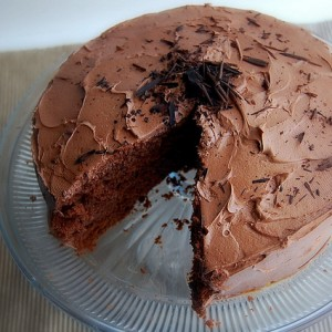 Mexican Milk Chocolate Cake