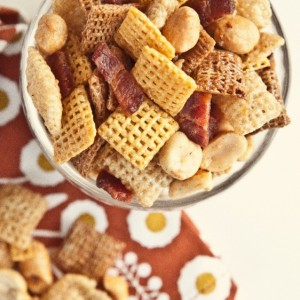 Maple Bacon Party Mix