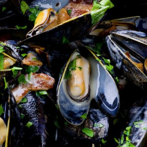Cider Mussels