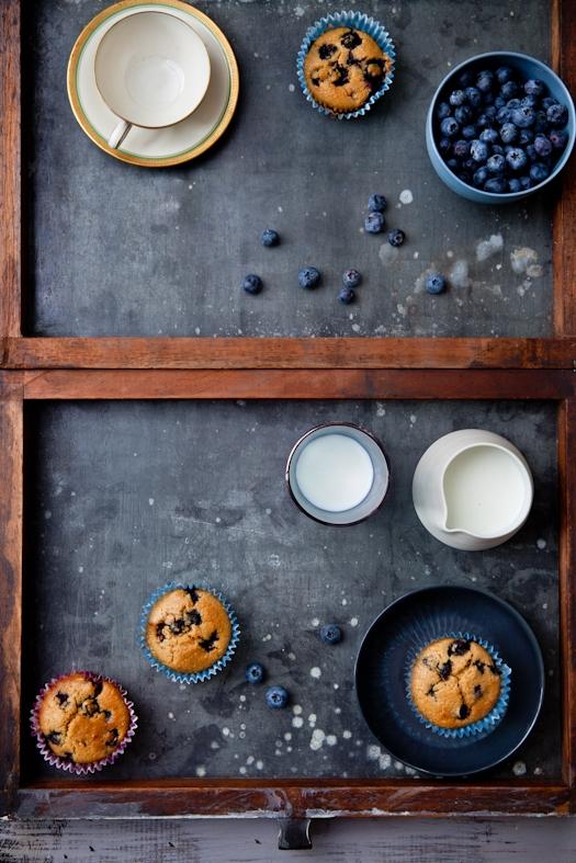 Blueberry Key Lime Tea Cakes