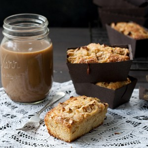 Individual Wholegrain Apple Ginger Breakfast Cakes