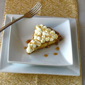 Caramel Apple Cream Cheese Pie