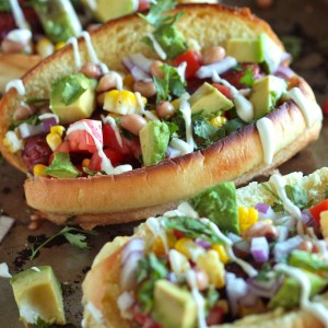 Tex-Mex Hot Dogs