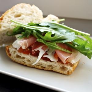 Simple Italian Sandwich