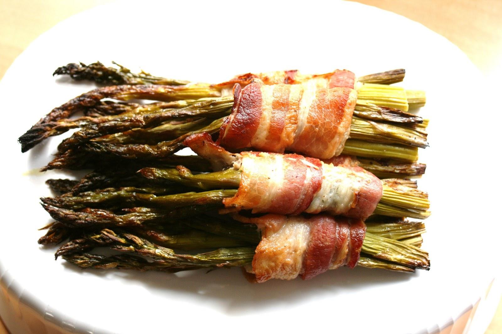 Roasted Balsamic Asparagus Bundles
