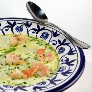 Maine Shrimp Chowder