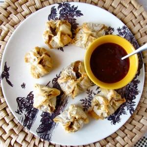Wisconsin Cheddar-Mushroom Bundles