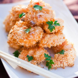 Baked Bang Bang Shrimp