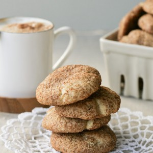 Cappuccino Swirl Snickerdoodles