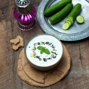 Chilled Mint Yogurt Soup