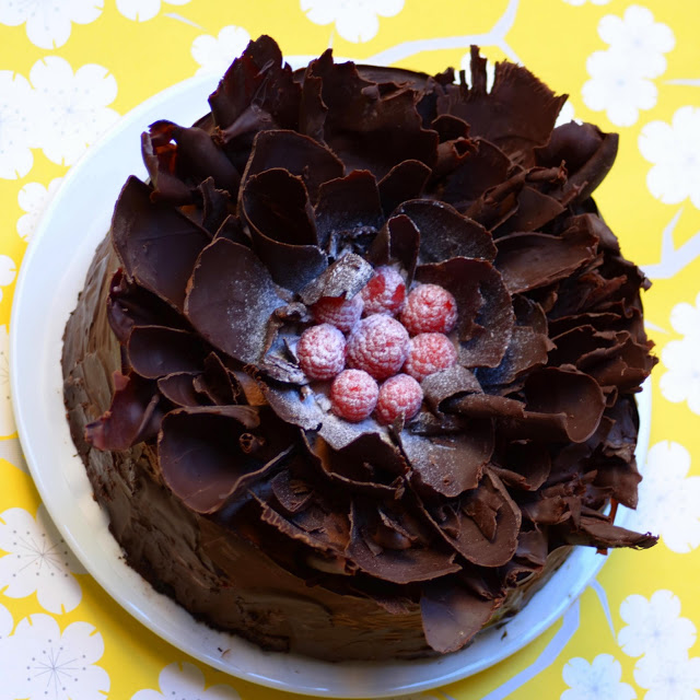 Dark Chocolate Brown Sugar Pound Cake