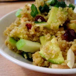 Curried Apple Quinoa Salad