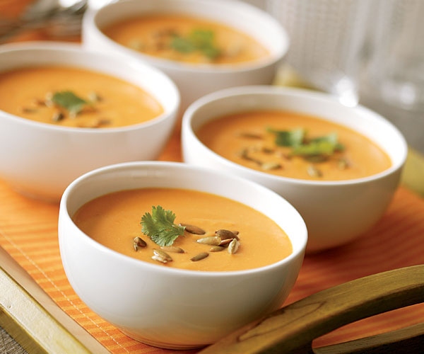 Chilled Curried Carrot Soup