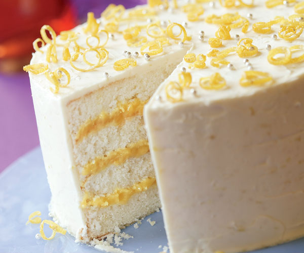 Triple-Lemon Layer Cake