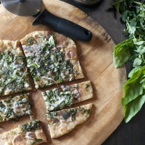Fresh Herb Flatbreads