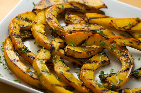 Sweet and Sour Grilled Pumpkin