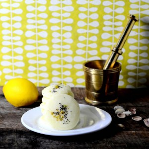 Lemon and Poppy Seed Rice Cookies