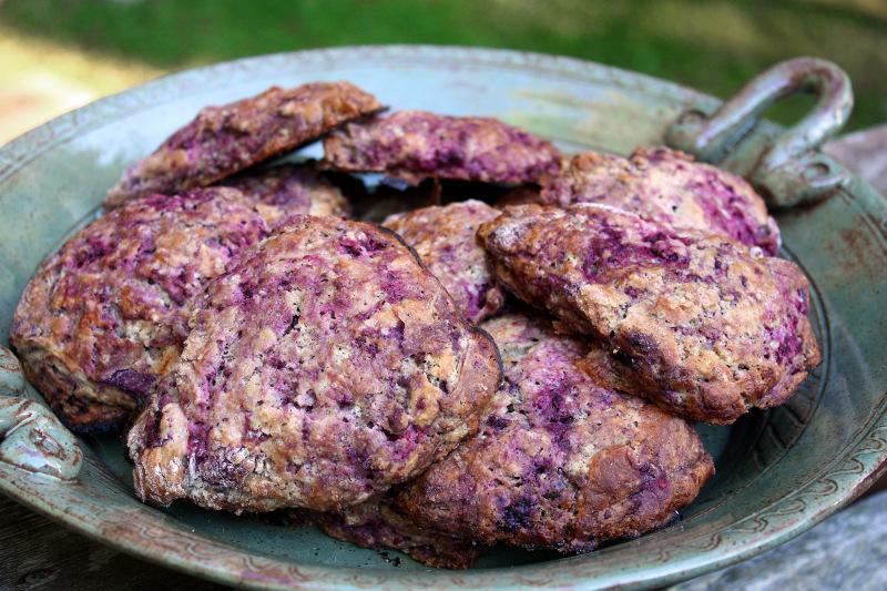 Wild Purple Scones