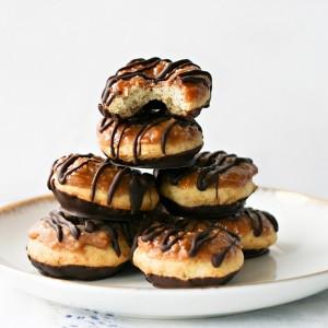 Samoa Baked Donuts