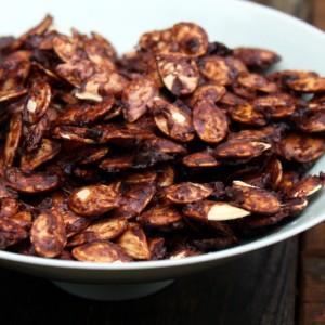 Salt and Cocoa Pumpkin Seeds