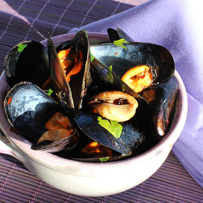 Black Pepper Mussels