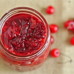 Roasted Sour Cherry Sauce