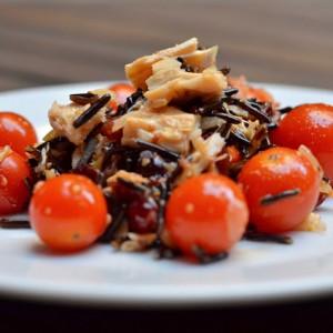 Wild Rice and Tuna Salad