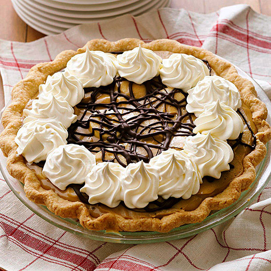 Banana-Butterscotch Cream Pie