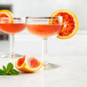Blood Orange and Bourbon