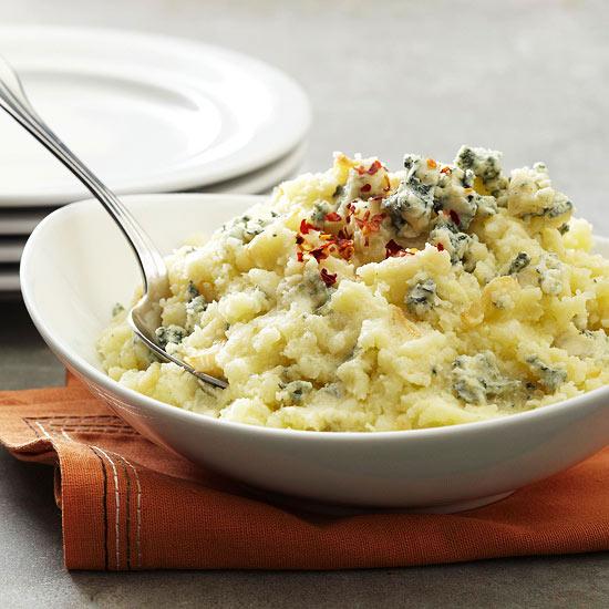 Blue Cheese-Garlic Potatoes