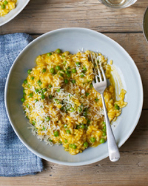 Fresh Carrot Risotto