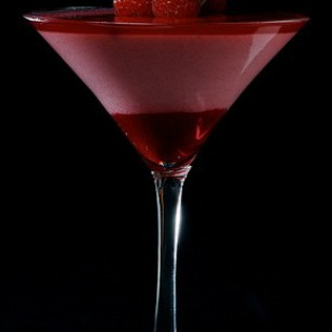 Raspberry Ice Tea Martini