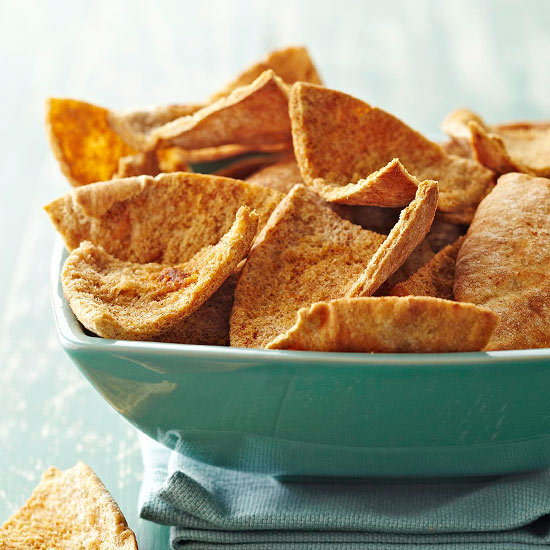 Savory Baked Pita Chips