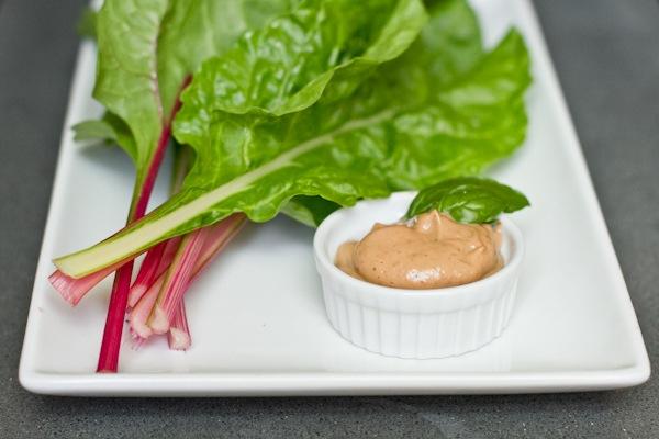 Strawberry Basil Avocado Cream Dressing